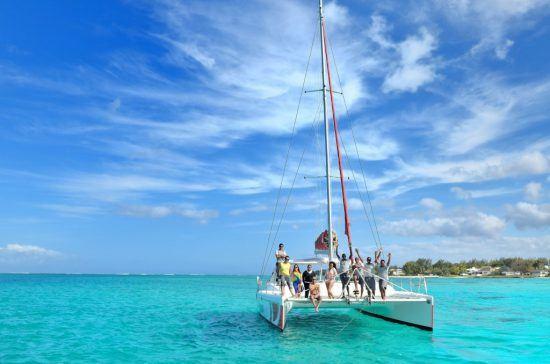 Catamaran em Ile Aux Cerfs