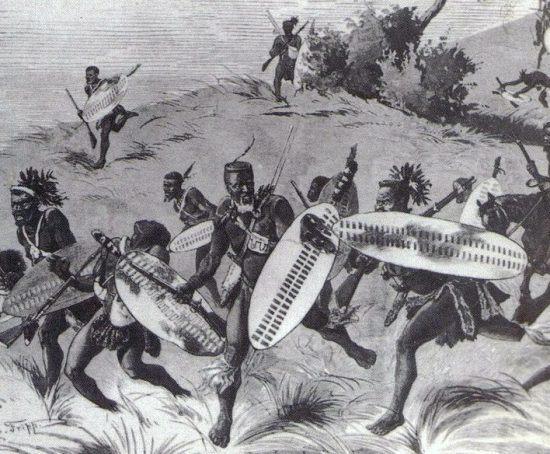 Abbildung aus dem Buch: Zulu War 1879, Twilight of a warrior nation, Ian Knight and Ian Castle