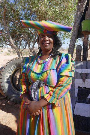 Herero Frau