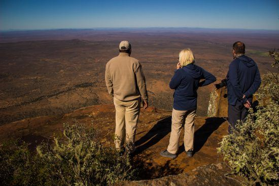 View point at Samara Private Game Reserve