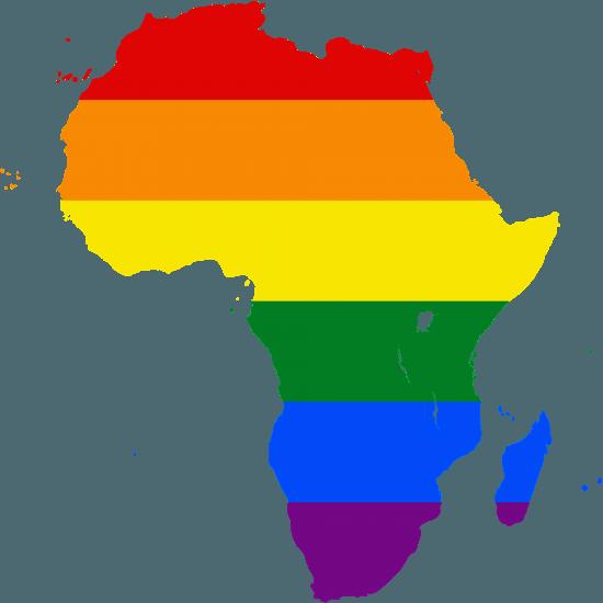 LGBT Karte Afrika