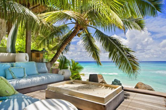 North Island Lodge is a luxury oasis within the tranquil waters of Seychelles