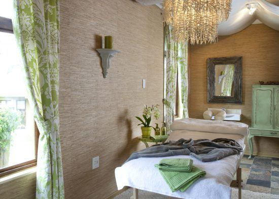 The spa at Hartford House in the Midlands of South Africa.