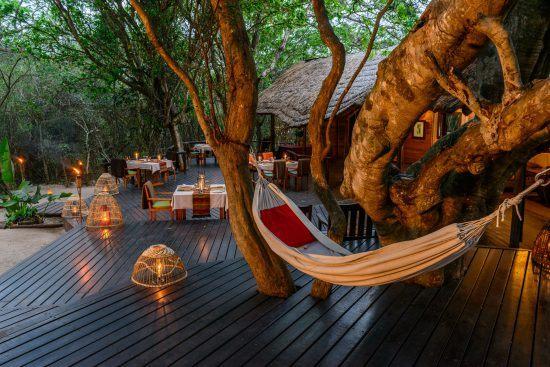 Die Kosi Forest Lodge bietet ein authentisches Südafrika-Feeling