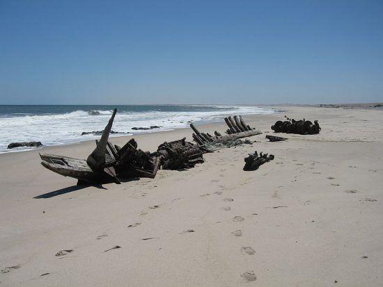 Skelettküste in Namibia