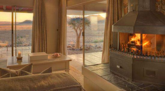 Sossusvlei Desert Lodge Wohnzimmer