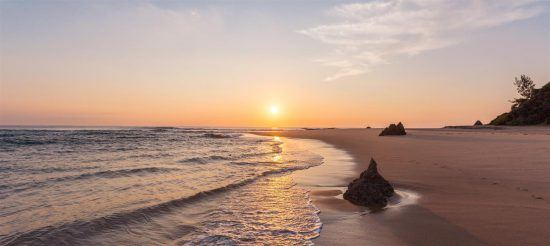 Sonnenuntergang Inhambane Küste