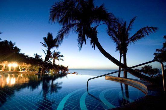 Poolbereich Anantara Bazaruto