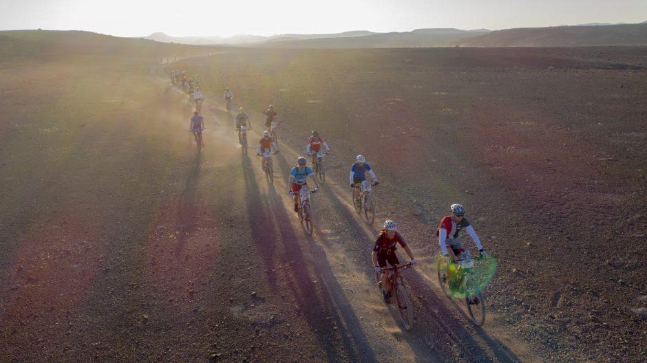 Fahrer des Rennens im Damaraland