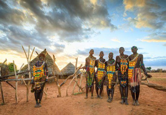 Traditioneller Stamm