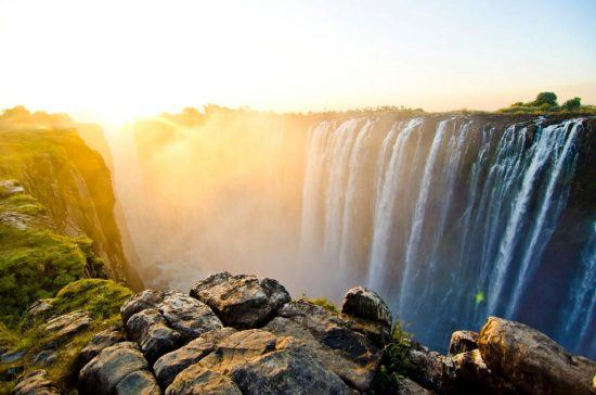 Victoria Falls is one of the best places