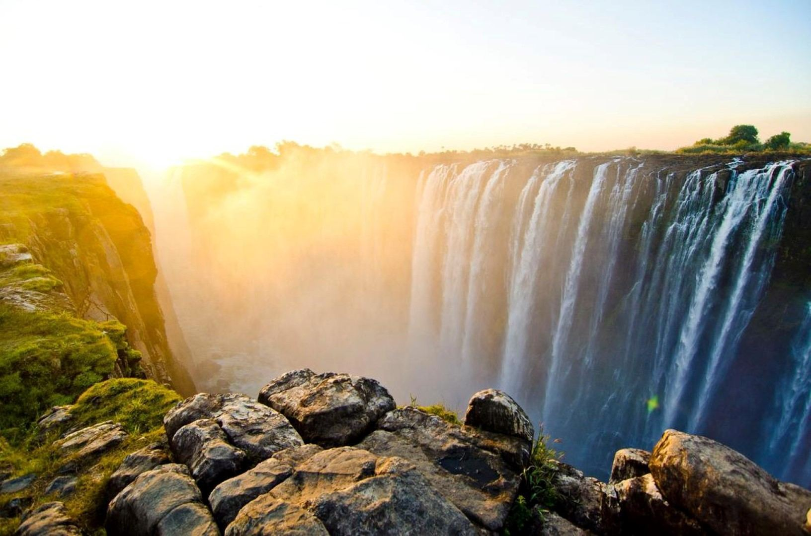 Victoria Falls is one of the best sights on the planet