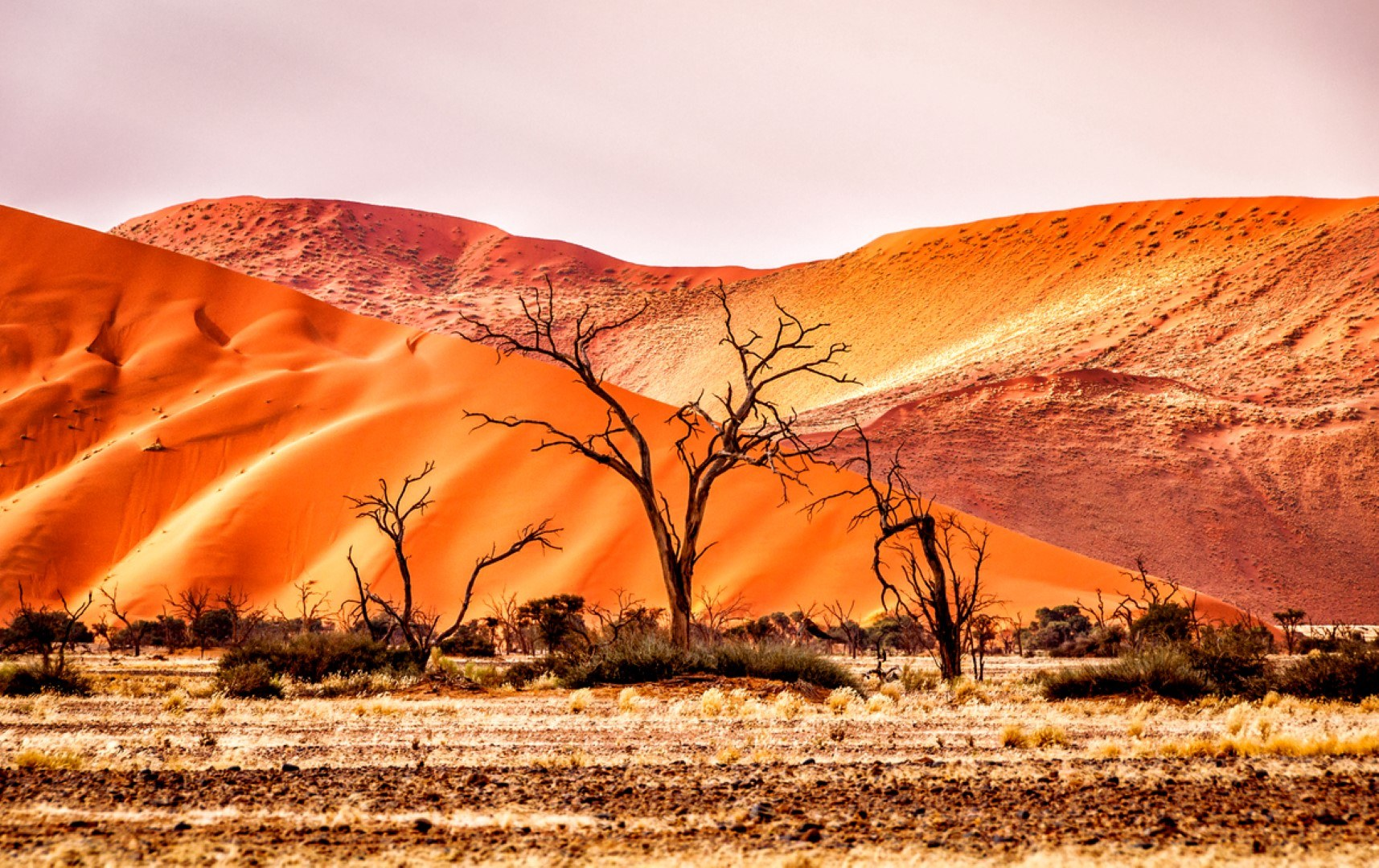As cores da Namíbia, marcadas em cada paisagem
