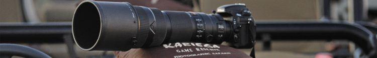 Un lente telefoto es muy útil para fotografiar animales salvajes