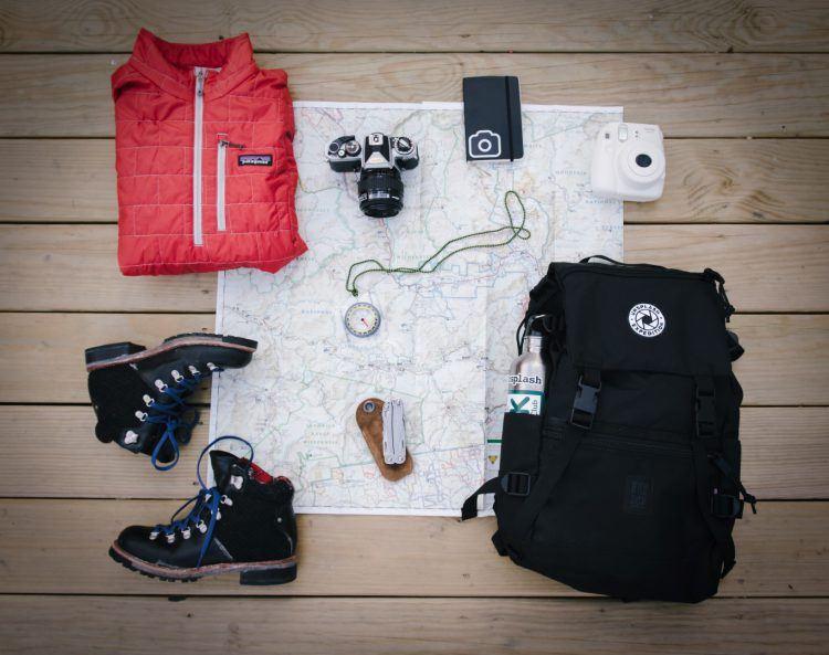 Ponte tus botas de explorador y guarda los recuerdos en tu mochila