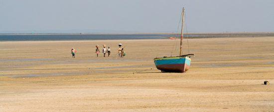 Fischerboot Mosambik