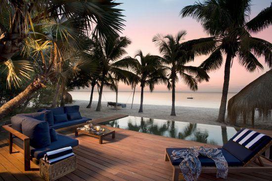 Poolbereich Benguerra Island Resort