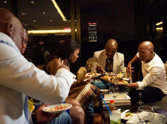 The Blackanese Sushi Bar em Joanesburgo