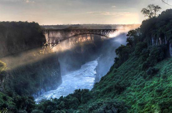 Africa's majestic Victoria Falls