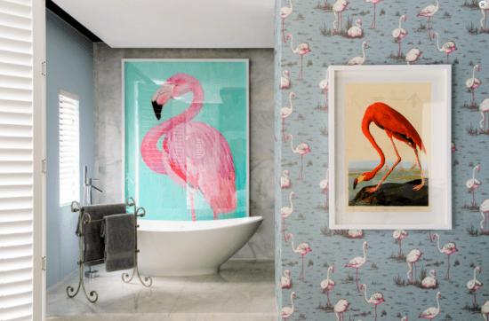 Hospedagens de luxo na África: Quarto Flamingo no Mannabay, Cape Town