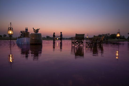 Um safári pelo Delta do Okavango é uma das mais românticas experiências africanas