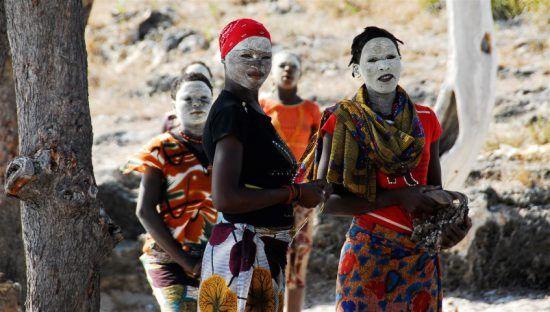 Frauen Mussiro-Maske