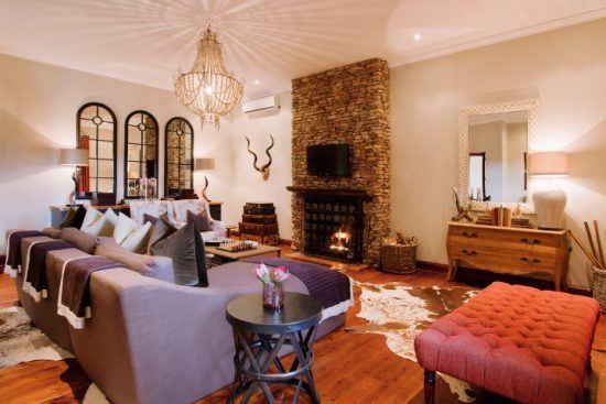 Luxuriöse Einrichtung im Kwandwe Melton Manor an der Garden Route