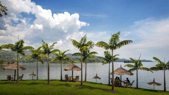 Uferpromenade am Lake Kivu in Ruanda