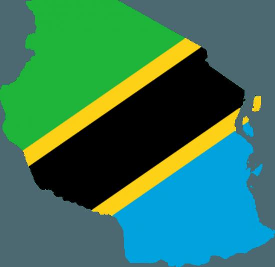 Nationalflagge Tansania