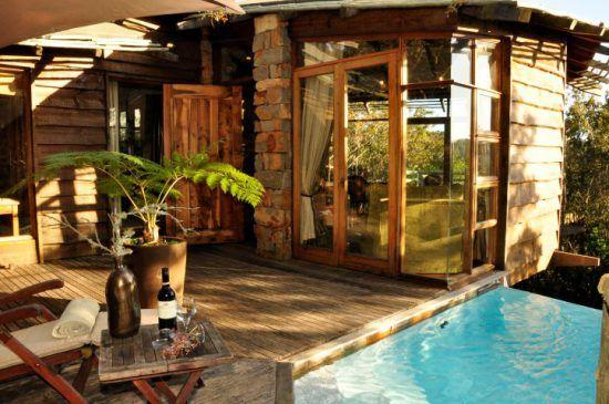 Luxuriöse Wohneinheit samt Swimmingpool hoch oben in den Baumkronen - eine der schönsten Unterkünfte an der Garden Route