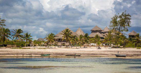 Resorts on the Watuma Beach in Kenya
