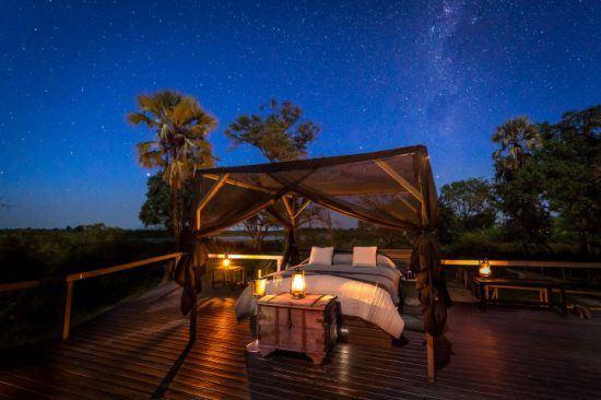 Momentos para el relax en el delta del Okavango