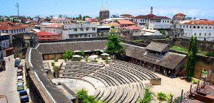 Amphithéâtre de Stone Town, Zanzibar, Tanzanie