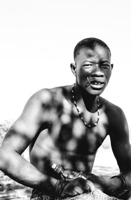 Hombre de la tribu Himba