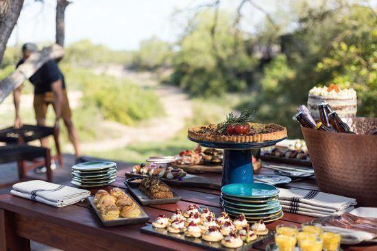 High tea em Silvan Safari. Foto; Silvan Safari