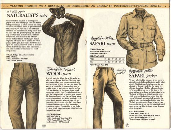 Moda de safári: Banana Republic