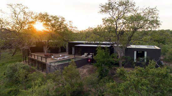 Vista de Silvan Safari, Reserva Sabi Sand, África do Sul