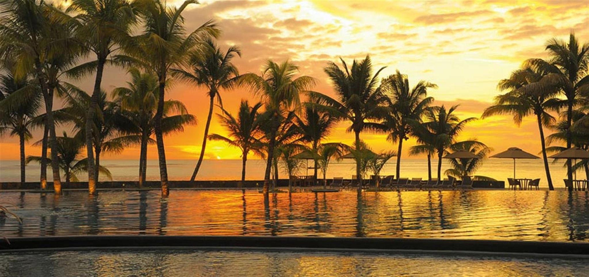 Atardecer de ensueño en Mauricio