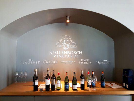 Alvoca em Stellenbosch Vineyards Brands nas Vinhas do Cabo, África do Sul