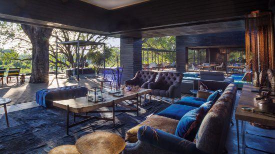 Das Interieur der Silvan Safari Lodge