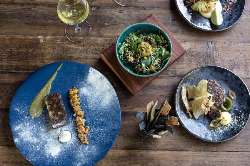 Comida para todos los gustos elaborada por las manos de la Chef Odette Olivier