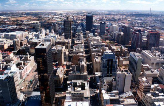 Stadtansicht aus der Luft