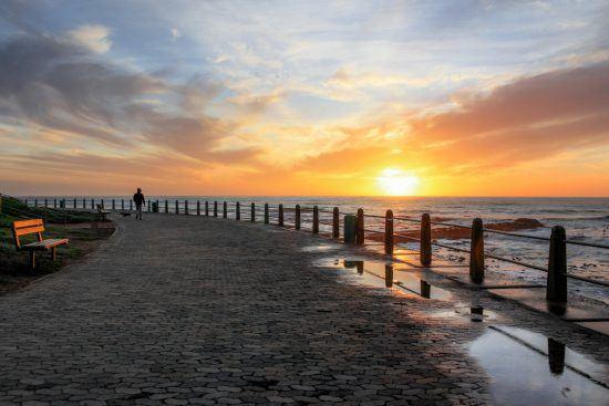 Pôr do sol em Sea Point