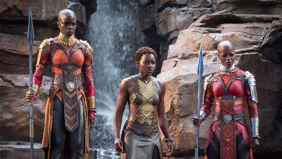 Personagens femininas do filme Black Panther