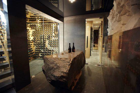 Ellerman House's Dom Perignon Champagne Cellar