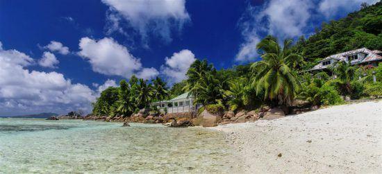 La bahía de Santa Ana, en las Islas Seychelles