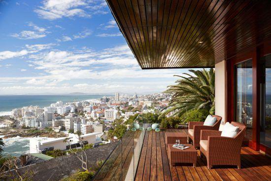 Vue panoramique de l'hôtel Ellerman House