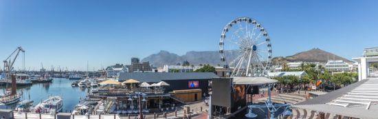 Panorama der V&A Waterfront in Kapstadt - Top-Aktivitäten Kapstadt