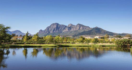 Stellenbosch é uma das cidades mais famosas das Vinhas do Cabo