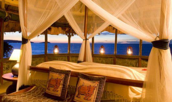 Lake Victoria in Kenya has beautiful, crystal waters